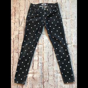 Paige Polka Dot Verdugo Ultra Skinny Jeans